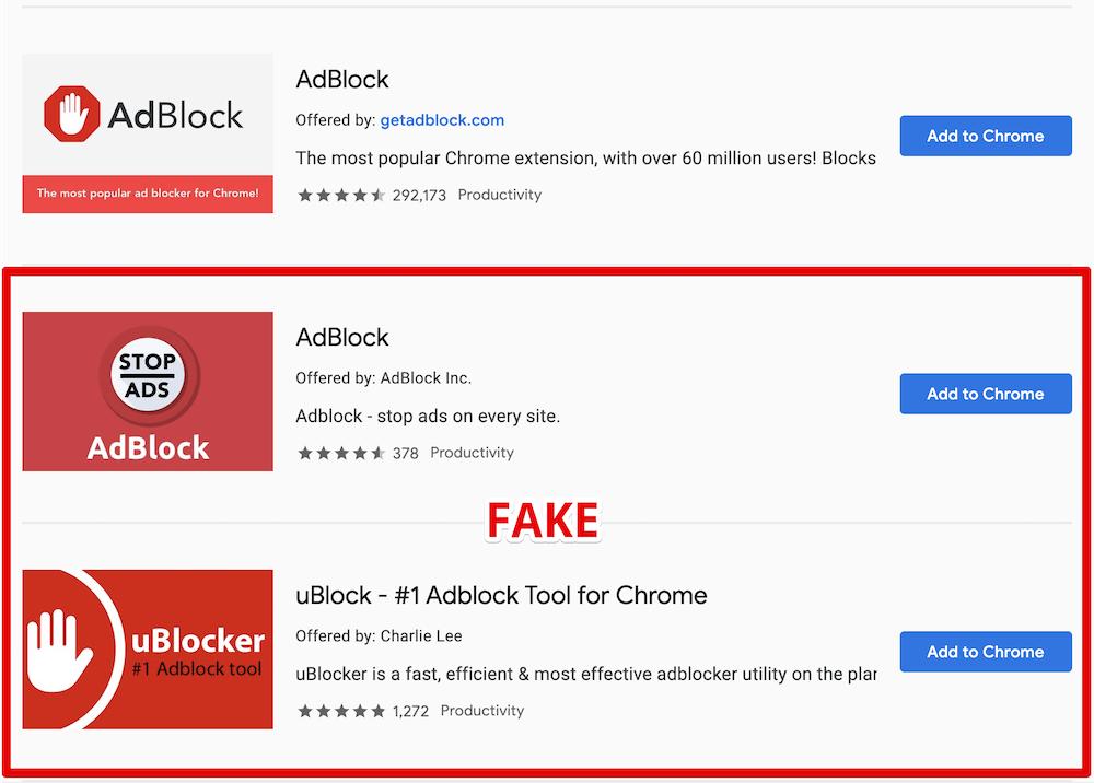 Вредоносные блокировщики рекламы